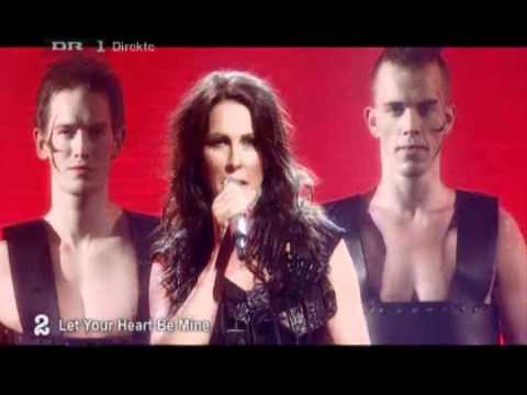 Jenny Berggren Let Your Heart Be Mine Live Danish Melodi Grand Prix Youtube
