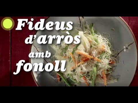 Cuines - Fideus d'arròs amb fonoll