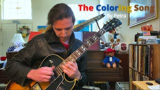 The Coloring Song (by Petra) - guitar arrangement by Richard Greig