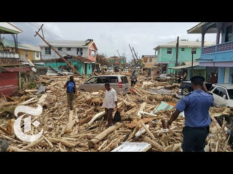 A Walk Through Dominica, Hours After Hurricane Maria