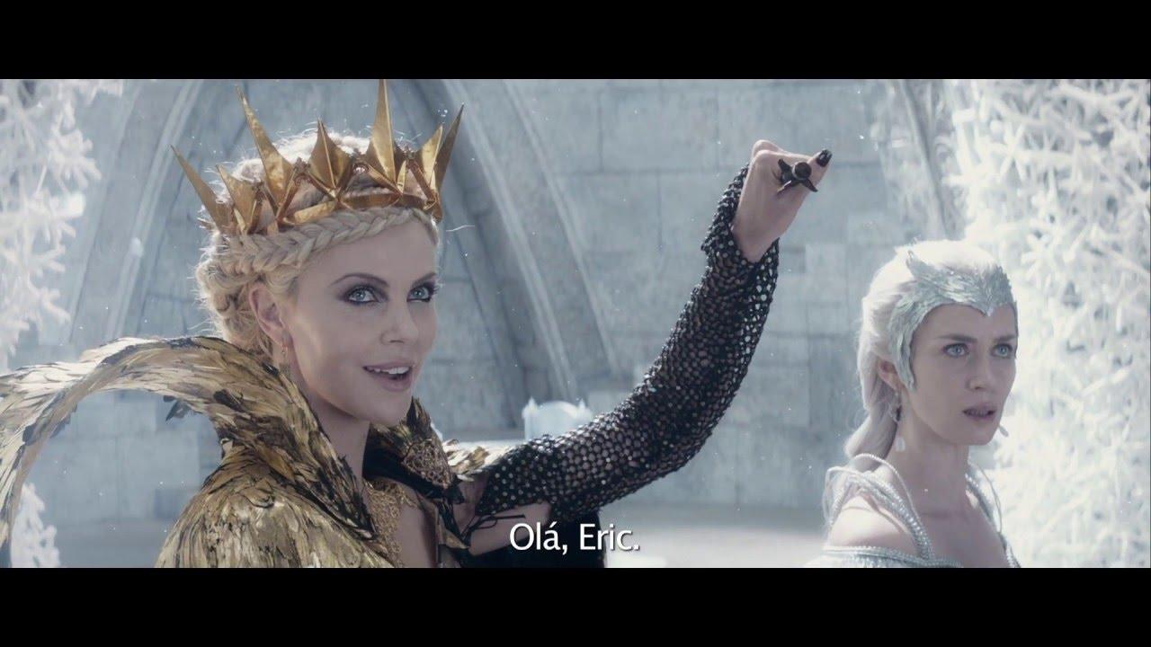 O Caçador e a Rainha do Gelo - Clip Exclusivo: Eric infiltra o Castelo