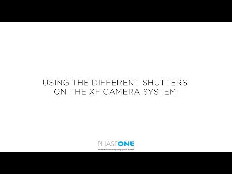 Support | Available shutters on the XF Camera System | Phase One
