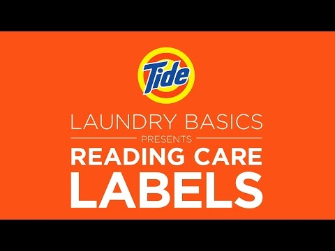 Tide | Laundry Tips: How to Read Washing Labels Correctly