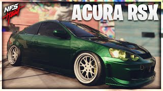 THIS CAR MADE ME WANT AN INTEGRA IN NEED FOR SPEED HEAT! | ACURA RSX RACE BUILD!