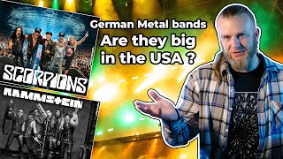 10 influential German Heavy Metal bands - Are they big in the USA?
