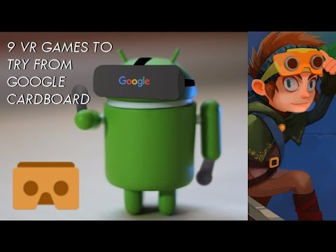 VR Games To Try On Android