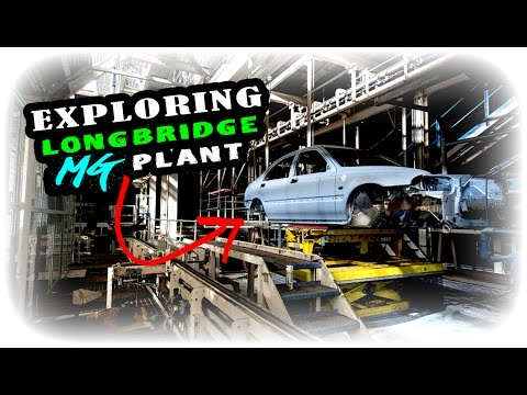EXPLORING ABANDONED MG ROVER LONGBRIDGE CAR FACTORY!