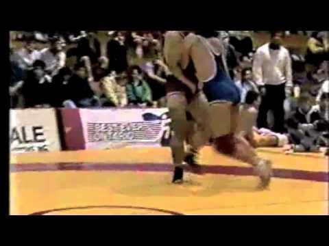 1989 Ontario Espoir Championships: 90 kg Final Jason Geris vs. Rob Tuersley