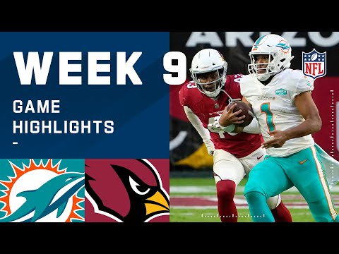 Dolphins vs. Cardinals Week 9 Highlights | NFL 2020