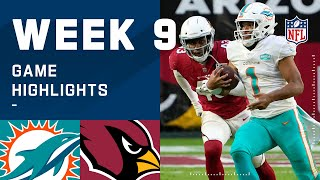 Dolphins vs. Cardinals Week 9 Highlights | NFL 2020