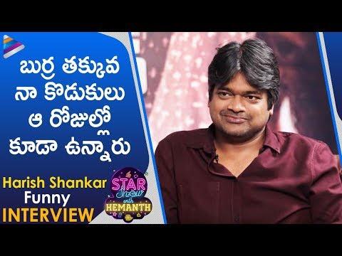 Harish Shankar FUNNY Interview   Valmiki Telugu Movie   The Star Show With RJ Hemanth