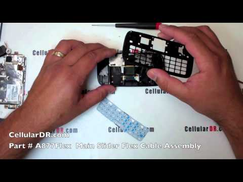 AT&T Impression Repair Instructions Samsung SGH-A877 Complete Disassembly Take Apart Video