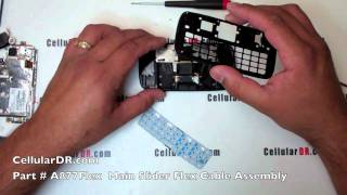 Gambar cover AT&T Impression Repair Instructions Samsung SGH-A877 Complete Disassembly Take Apart Video