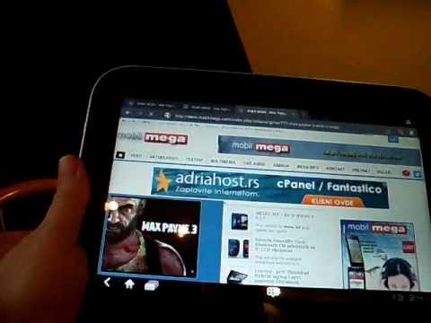 Lenovo IdeaPad K1 tablet pc Android 3.1