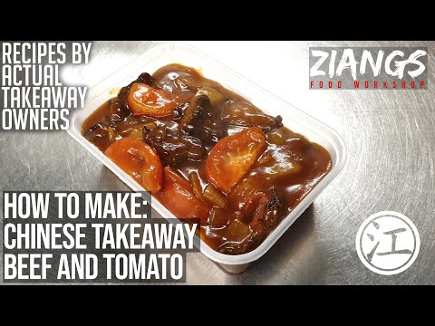 Ziangs Beef And Tomato (Chin's Favourite Go-to Dish) REAL Chinese Takeaway Recipe