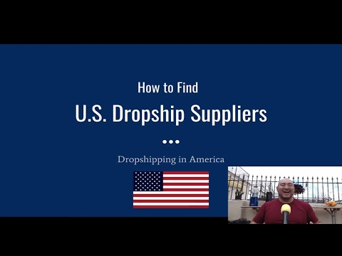 How To Dropship From The U.S.A. - Finding American Dropshipping Suppliers