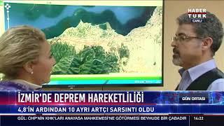 İzmir'de deprem hareketliliği