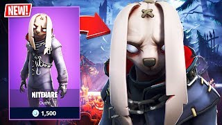 New Creepy Nitehare Bunny Skin! (Fortnite Battle Royale)