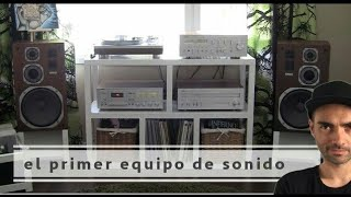El primer equipo de sonido