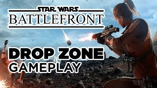 Drop Zone Mode Highlights - Star Wars Battlefront Gameplay