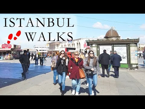 The future Mayor of Kadıköy was also walking the streets of Istanbul | Istanbul Walk 2019