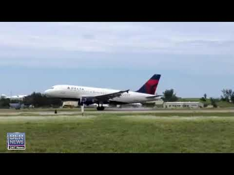 Delta Airlines Lands In Bermuda, July 6 2020