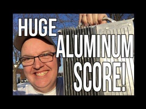 Huge Aluminum Score from my favorite Dumpster!  Thrift Shopping for toys!
