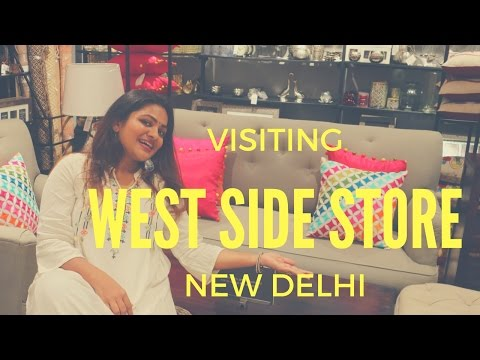 Visiting Westside Store Delhi|Westside Homestore & Baby Clothes|Cute And Cheap Kids Shoes & Sandals