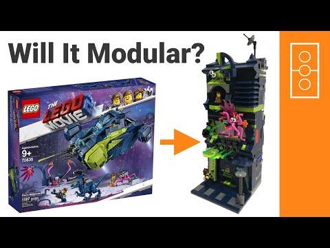 Lego Alternate Build 70835 Rex's Rexplorer Lego Movie 2 to Modular Building