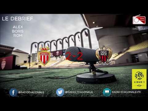 Le Débrief - Ligue 1 - J21 Monaco/Nice (2-2)