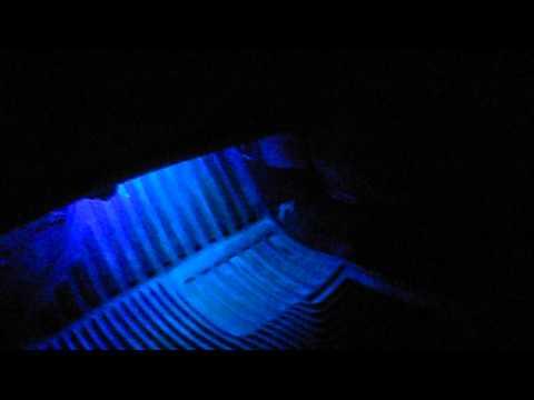 Nissan 300ZX Custom LED Interior Lighting