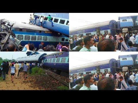 train accident near khatauli railway station at muzaffarnagar in UP
