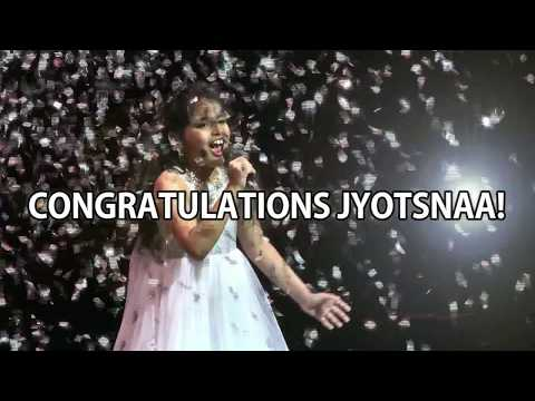 JYOTSNAA JAYASHANKER   Popstar Of The Year 2017 Grand Champion