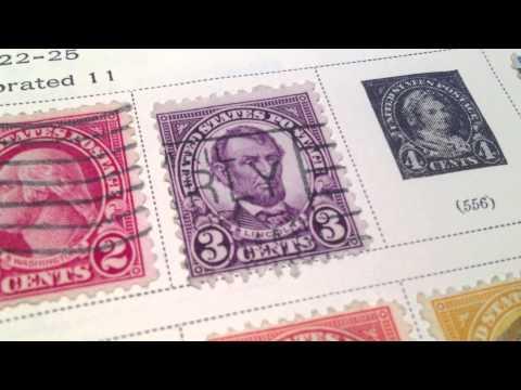 3¢ Abraham Lincoln US Postage Stamp Scott