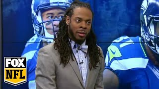 richard sherman goes 1 on 1 with randy moss