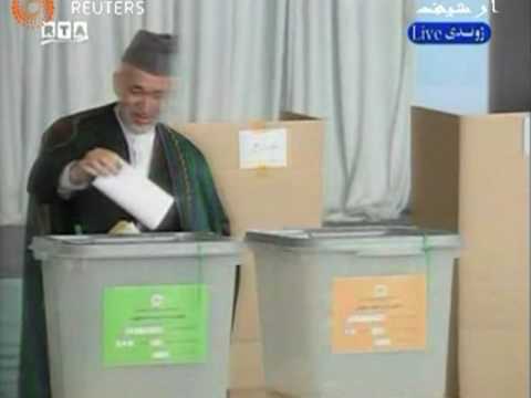 Afghan Election Officials Declare Karzai Winner