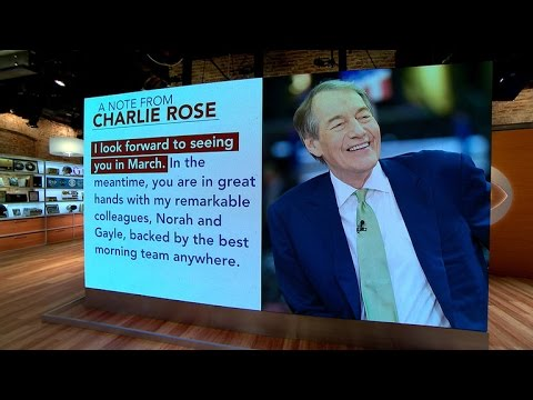 """Charlie Rose returning to """"CBS This Morning"""""""