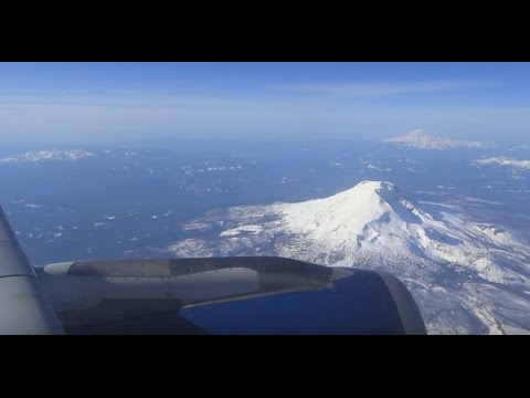 (HD) Delta Airbus A320 Portland to Minneapolis / Window Seat View + PDX Airport Planespotting