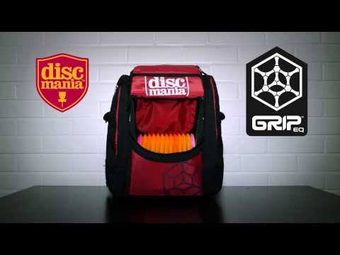 Introducing The Discmania Tour Bag By Grip Equipment