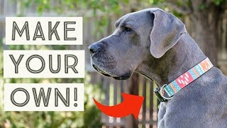 DIY Dog Collar - How to make your own custom dog collars! | Great Dane Care