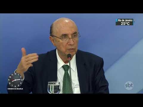 ´Sim, sou presidenciável´, afirma ministro Henrique Meirelles   SBT Brasil (03/11/17)