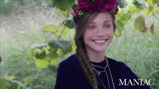 Dance Moms - Maddie Ziegler modeling for Maniac Magazine ; Behinde the Scenes ft. Mackenzie