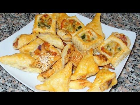 Ricetta stuzzichini di pasta sfoglia salati gialquadrato for Ricette pasta veloci