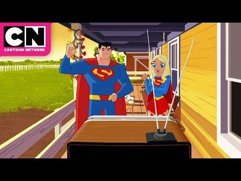 Justice League Action | Keeping Up with the Kryptonians | Cartoon Network