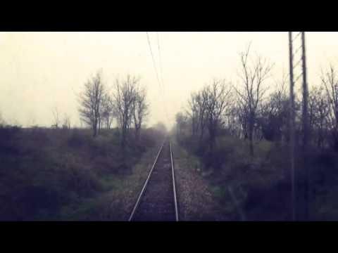 Train Driver's view/railroad in Serbia from Lovcenac to Mali Idjos polje - SERBIAN RAILWAYS