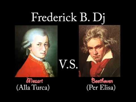 Beethoven and Mozart