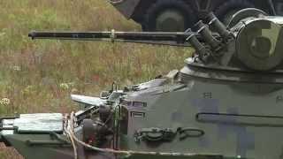 Сделано в Украине. Бойцы Нацгвардии провели тестирование новых БТР 3Е. Видео