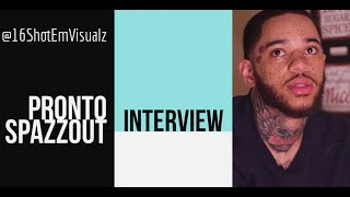 Pronto Spazzout on Getting his name from Soulja Boy, Life On the West Side of Chicago & Mikey Dollaz