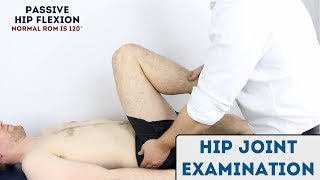 Hip Joint Examination - OSCE Guide (new) Video