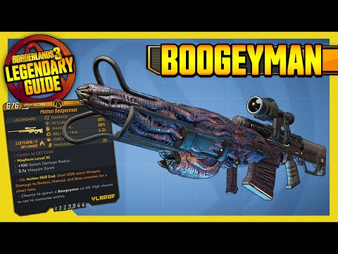 BOOGEYMAN | ARMS RACE | Legendary Item Guide Borderlands 3